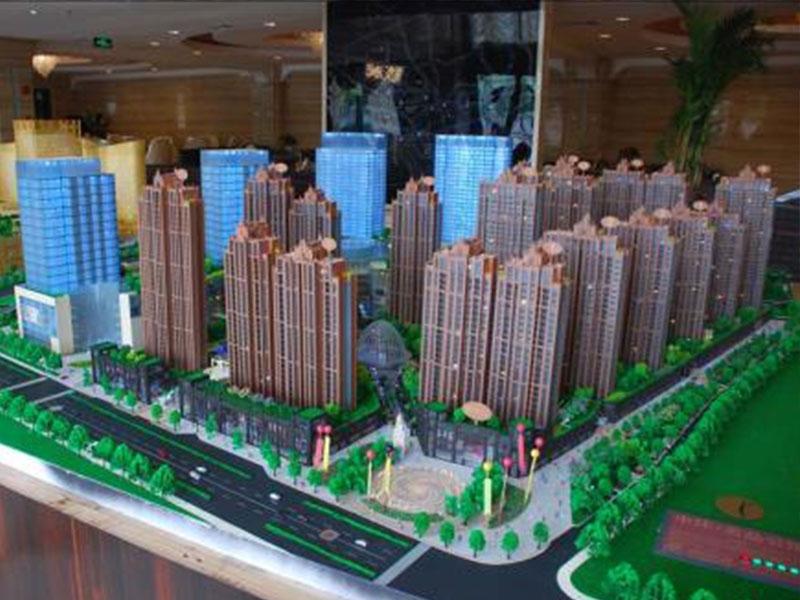 威海沙盤制作模型