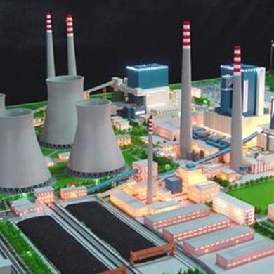 威海工業沙盤模型